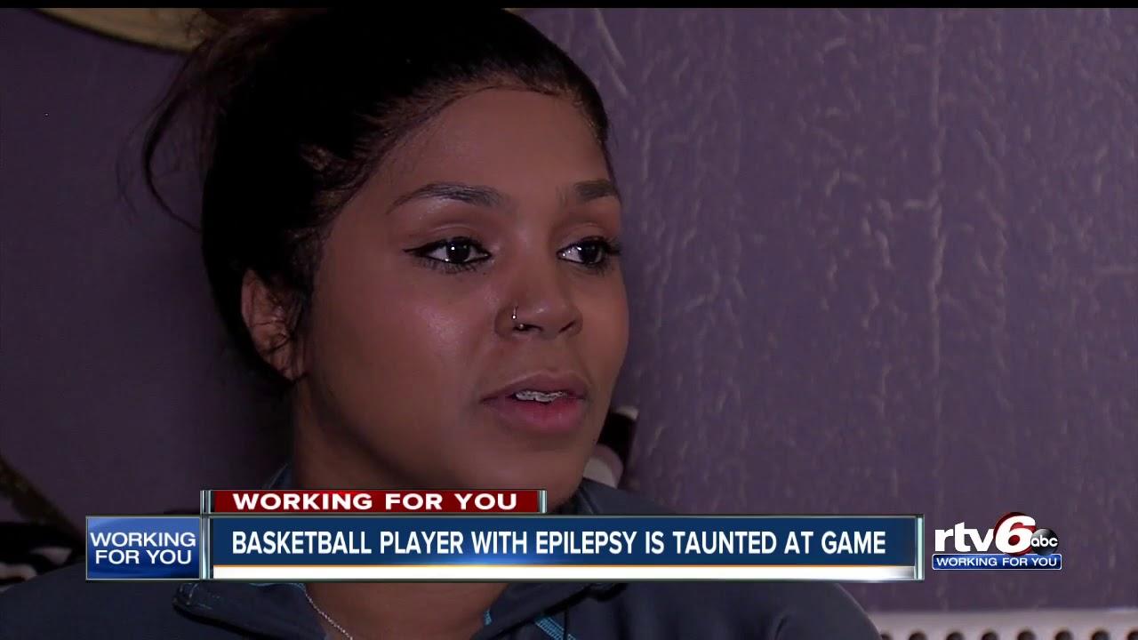 Indiana epilepsy: High school basketball player mocked by