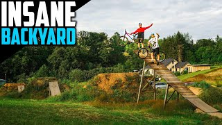 I TRAVELLED TO GERMANY TO RIDE THIS ULTIMATE SLOPESTYLE BACKYARD!! INSTA360