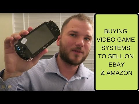 How to buy and sell video game systems to sell on eBay and amazon