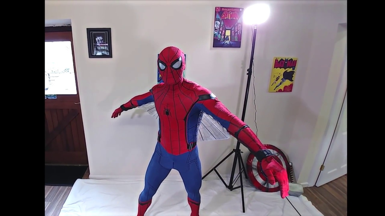 BEST SPIDER-MAN HOMECOMING SUIT EVER & BEST SPIDER-MAN HOMECOMING SUIT EVER - YouTube
