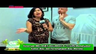 Keseruan Melaney Ricardo & Tyson Menunjukan Kamar Bayi Dan Perlengkapan Bayi Mereka