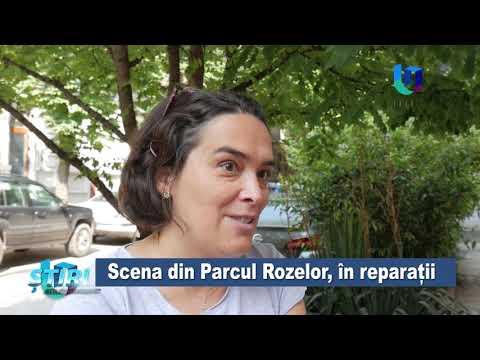 TeleU: Scena din Parcul Rozelor, în reparații