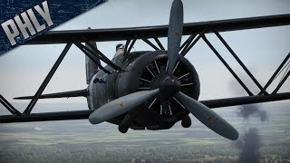 War Thunder- CR-42 Falco! BEAST BIPLANE! War Thunder Gameplay