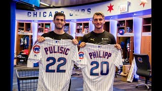 Pulisic and Philipp at Chicago Cubs | BVB meets MLB