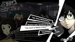 """Persona 5 - 5-26: Ms. Kawakami Quiz Sherlock Holmes Question """"Arsene Lupin: Gentlemen Burglar"""""""