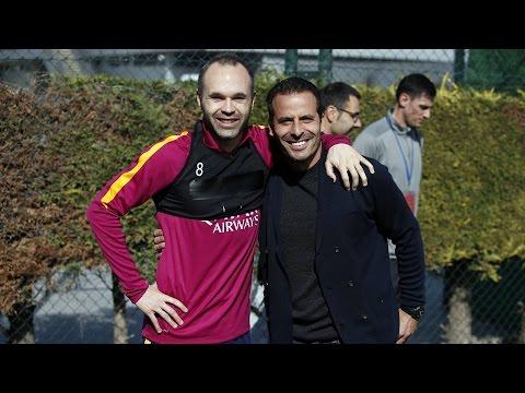 """Ludovic Giuly: """"El tridente de ahora es más goleador que Ronaldinho, Eto'o y yo"""""""