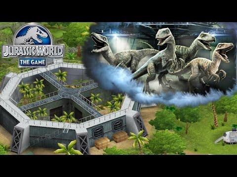 Гибриды Jurassic World The Game прохождение на русском 120
