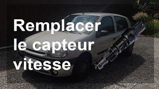 Remplacer le capteur vitesse - Renault Clio 2