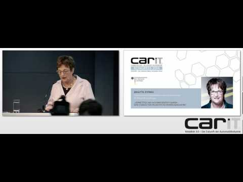 carIT Kongress 2014: Brigitte Zypries (BMWi)