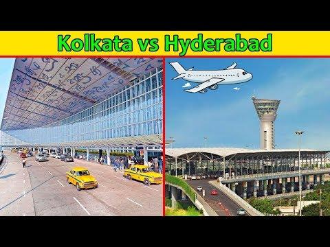 Kolkata Airport vs Hyderabad Airport Comparison