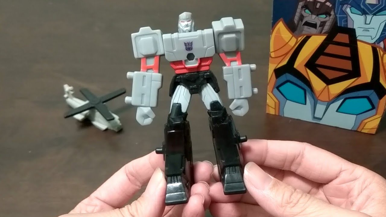 McDonald's Happy Meal Toy: Transformers - Megatron (2019)