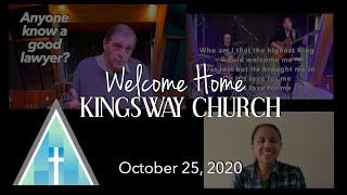 Kingsway Church Online - Oct. 25, 2020