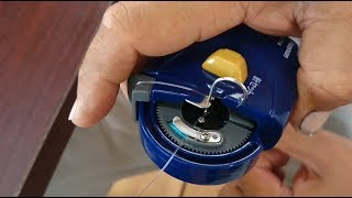 Deep sea fishing The strongest knotting !!fully automatic fishing line tying machine