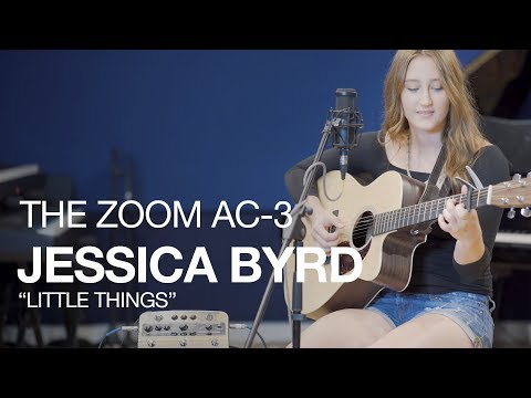 "The Zoom AC-3 Acoustic Creator: Jessica Byrd and ""Little Things"""