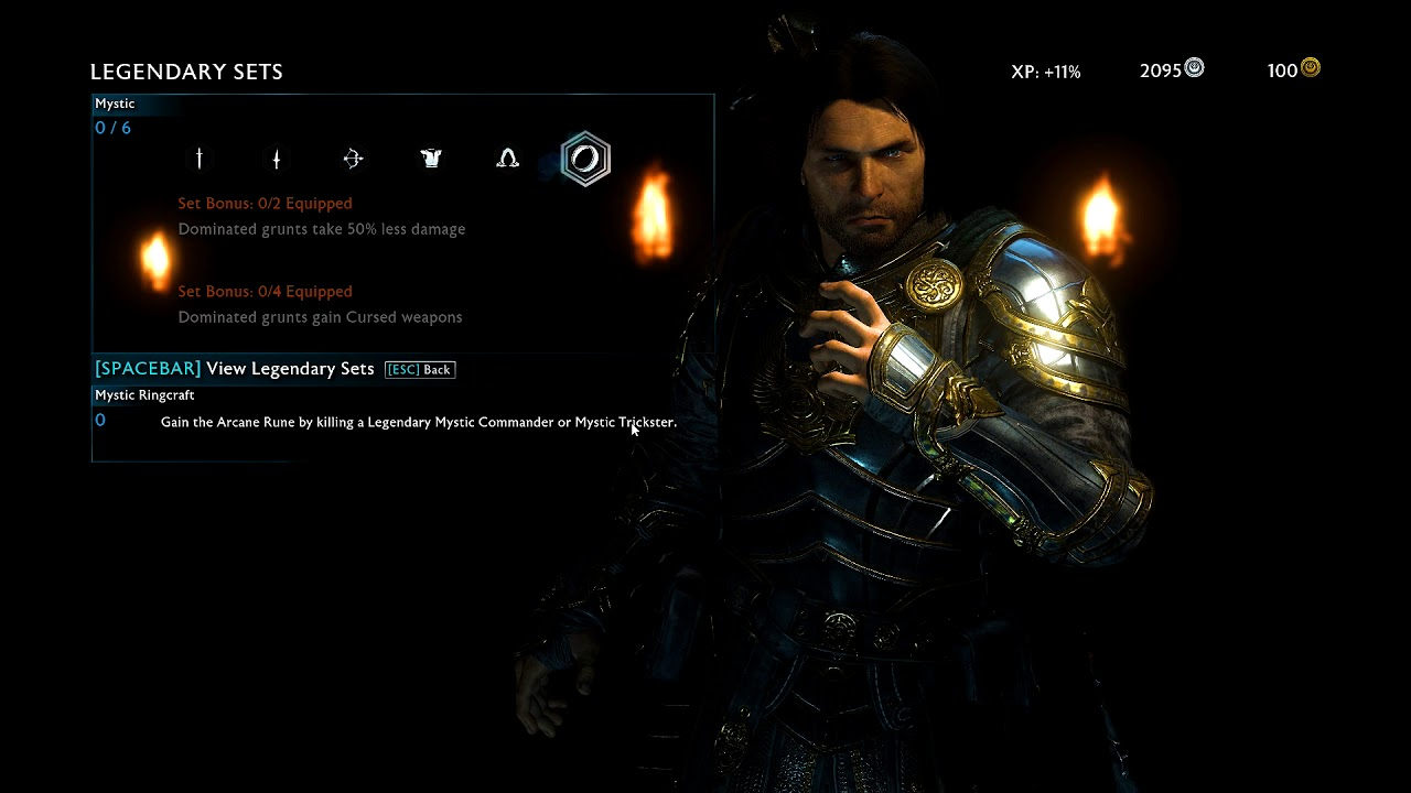 shadow of war how to make captains legendary