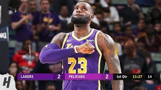 Los Angeles Lakers vs New Orleans Pelicans - Full Game Highlights   February 23, 2019
