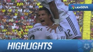 Resumen de Villarreal CF (0-2) Real Madrid - HD