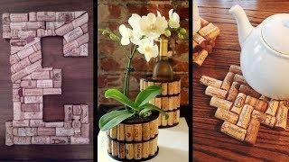 23 Ideias incríveis com rolhas de vinho