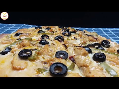 Chicken Fajita Pizza Recipe | Food Fusion Concept | Taste | Zaiqa | Delicious Cooking Ideas | Masala