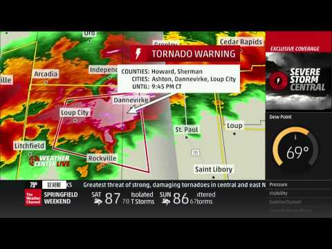 Severe Weather Coverage: June 3, 2014, 9-10pm - The Weather Channel