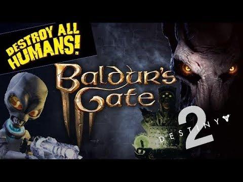Reacting To Baldur S Gate 3 Destiny Shadowkeep Dlc Stadia Pricing And Destroy All Humans