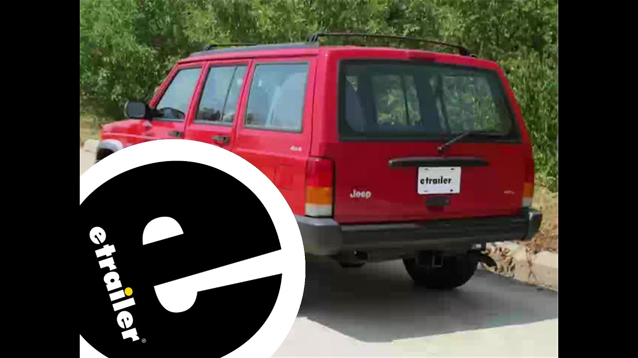 small resolution of trailer wiring harness installation 1998 jeep cherokee etrailer com