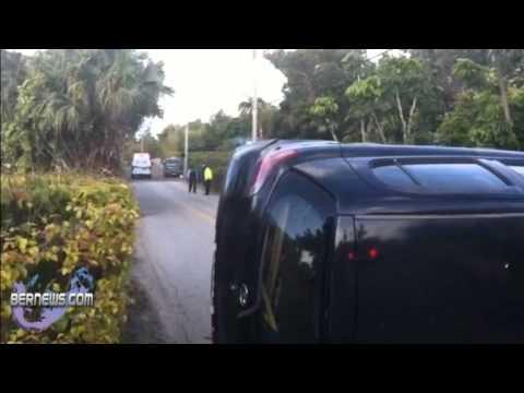 Accident Berry Hill Bermuda April 11 2011