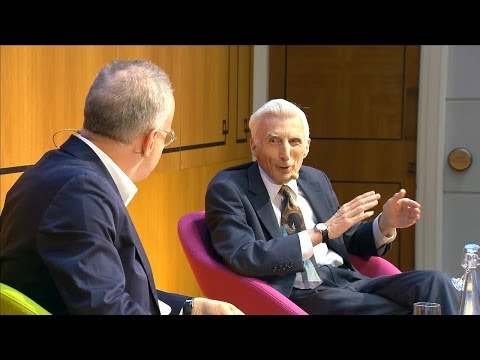 Martin Rees & Hans Ulrich Obrist in conversation