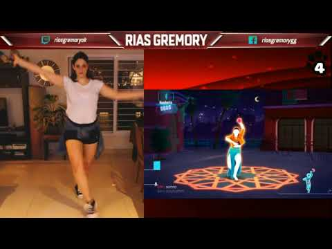 Stream Moments - JUST DANCE 2017 - Rias Gremory GG