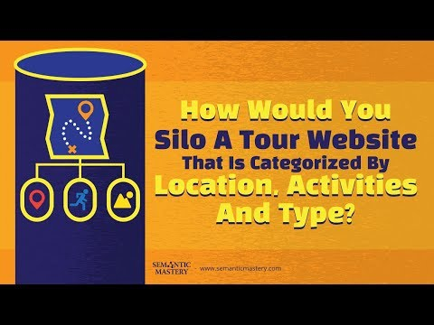 How Do You Silo A Website That Offers Tour Packages By Location, Activities And Type