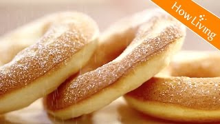(簡單甜點) 烤豆腐波堤甜甜圈-低卡下午茶點心 Baked Tofu Donut │HowLiving美味生活