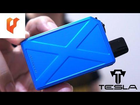รีวิว Mod Pod บุหรี่ไฟฟ้า รุ่นใหม่โคตรสวย TESLACIGS INVADER GT