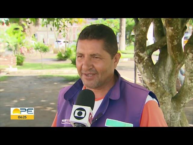 Homem que dormia no Aeroporto do Recife consegue emprego e volta para Itambé