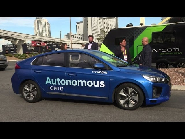 Hyundai unveils its self-driving car