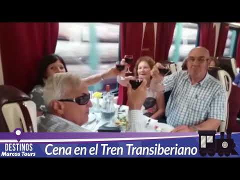 Cena en el Tren Transiberiano