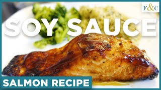 How to Make Baked Soy Sauce Salmon | Easy Salmon Recipe