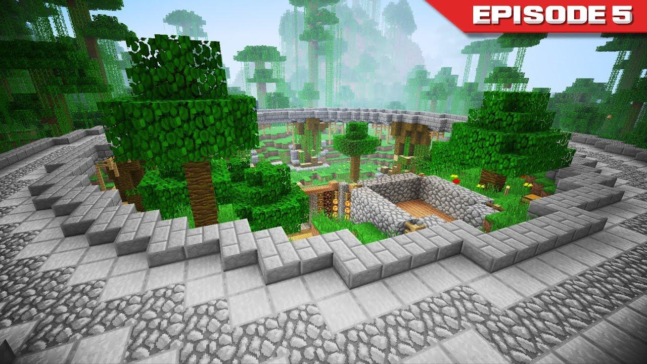 Hermitcraft Episode 5 The Micro Jungle YouTube