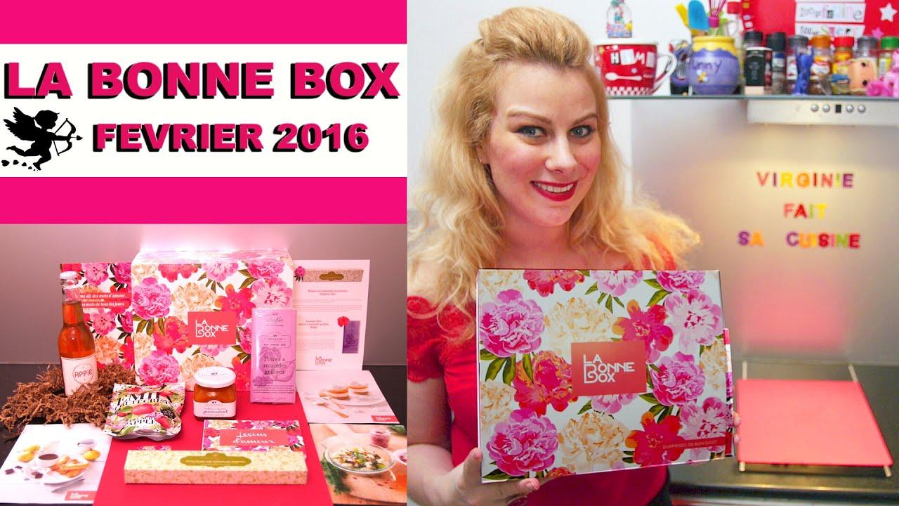 Une box de st valentin la bonne box virginie fait sa cuisine youtube - Virgine fait sa cuisine ...