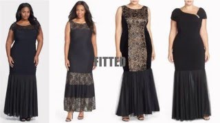 Plus Size Mother of the Bride Dresses ( Long Gowns)