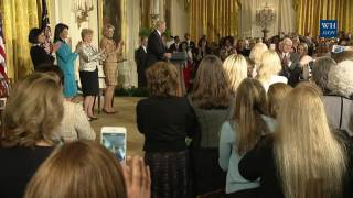 President Trump and Vice President Pence Speak at the Women