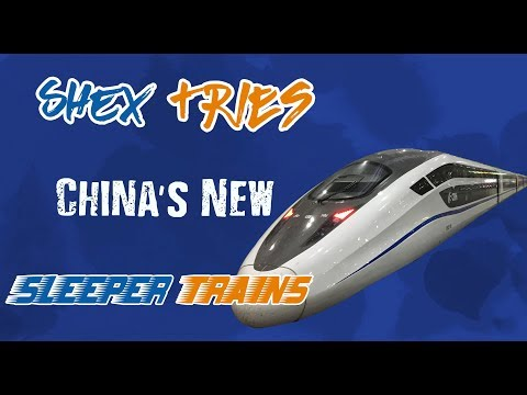 Shanghai to Beijing on China's New Sleeper Train - A Video Guide