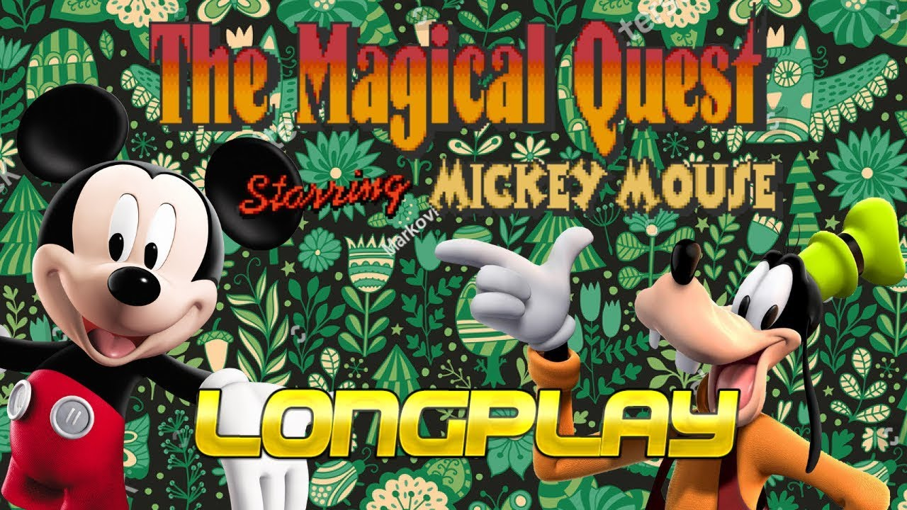 disney's magical quest starring mickey mouse longplay
