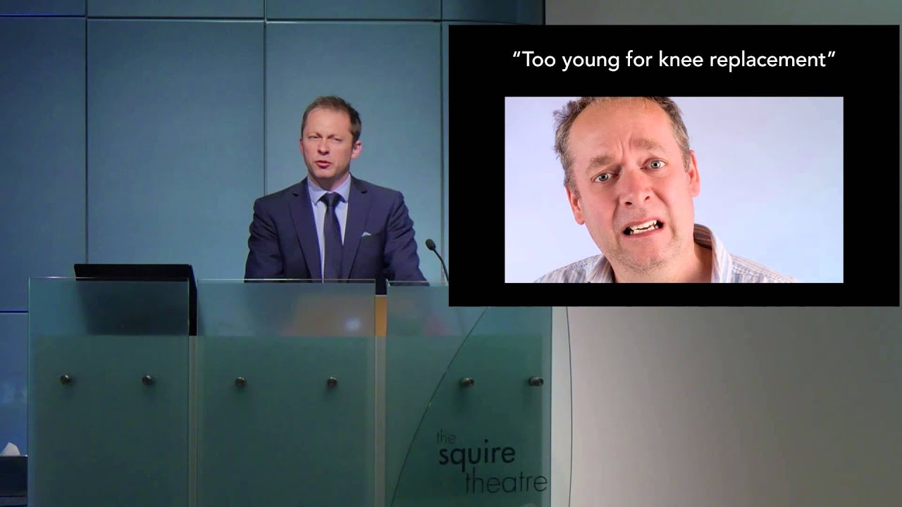 Too Young for a New Knee