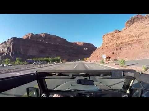 Colorado River and Castle Valley Road May 2016