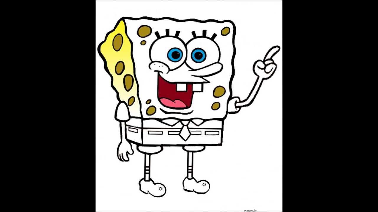 Spongebob schwammkopf Malvorlage - YouTube