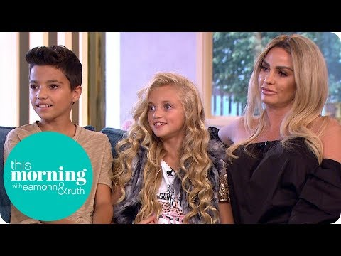 Katie Price's Children Reveal How They Feel Being Part of Her Reality Show | This Morning