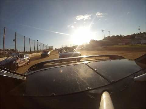Eagle Valley Speedway Hornet Feature 7/2/17 Rear * Roll Over*