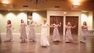 Epic Wedding Party Dance