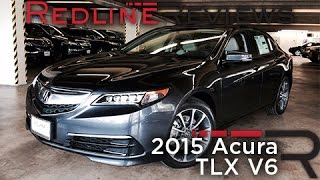 2015 Acura TLX V6 Redline Review