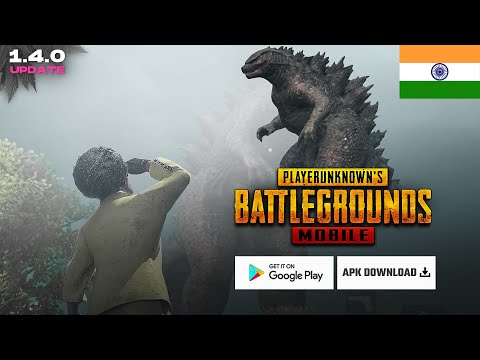 Godzilla vs Kong Update is Here 🇮🇳 | How to download PUBG Mobile 1.3 Update